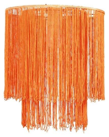 Abażur sznurkowy pomarańczowy do lampy wiszącej Brasil Candellux 77-24230
