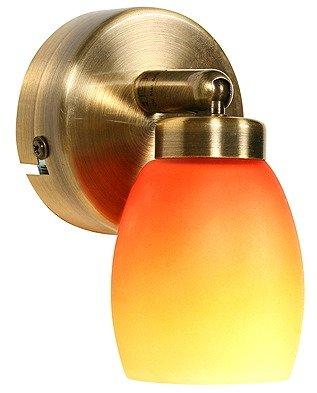 LAMPA ŚCIENNA CANDELLUX WYPRZEDAŻ 91-81134 OLIVIA KINKIET 1X40W G9 PATYNA RAINBOW