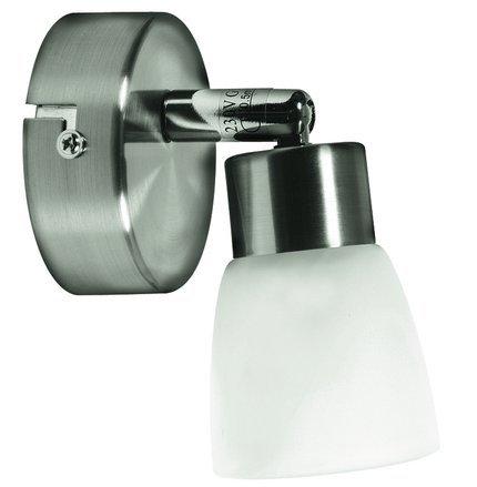 LAMPA ŚCIENNA CANDELLUX WYPRZEDAŻ 91-83886 DROPS KINKIET 1*40W G9 NIKIEL MAT