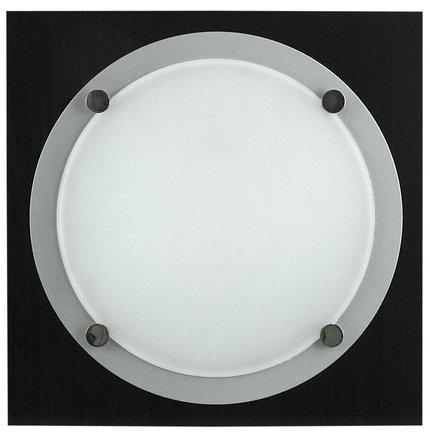 LAMPA SUFITOWA CANDELLUX WYPRZEDAŻ 10-14033 CAFE 1X60W E27 PLAFON MDF CIEMNE DREWNO MET RING
