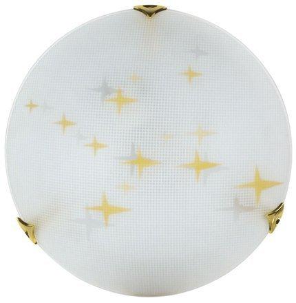 LAMPA SUFITOWA CANDELLUX WYPRZEDAŻ 13-79513 STARS PLAFON30 1X60W E27 AMBRA