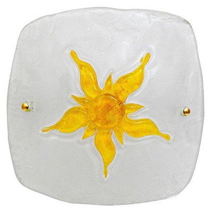 LAMPA SUFITOWA CANDELLUX WYPRZEDAŻ 13-88614 SUN PLAFON30  ŻÓŁTY 1 X60 W E 27