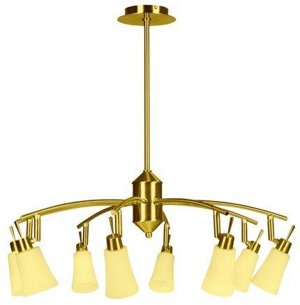 LAMPA SUFITOWA CANDELLUX WYPRZEDAŻ 38-87082 KROTON ZWIS 8X40W G9 PATYNA
