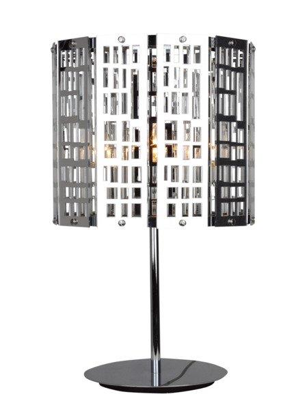 LAMPKA BIURKOWA CANDELLUX WYPRZEDAŻ 41-26579 ZORBA LAMPKA 1X60W E27 51CM CHROM