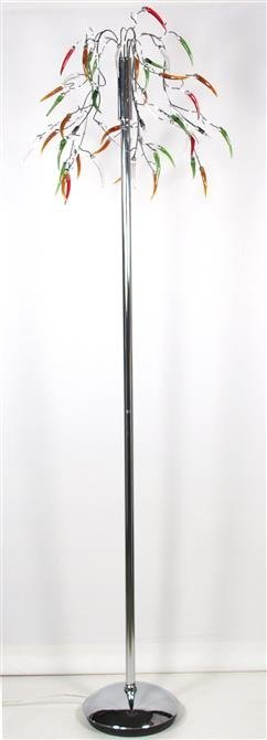 Lampa podłogowa chromowa 5x20W G4 L&H Paprique Candellux 55-04416
