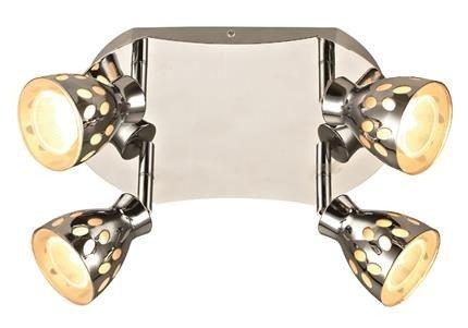 Lampa sufitowa plafon 4x50W GU10 PARADA Candellux 98-88102
