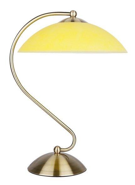 Lampka biurkowa gabinetowa patyna 60W E27 Lido Candellux 41-79612