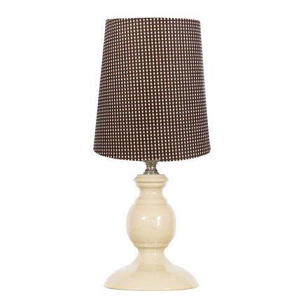Lampka stołowa nocna brązowa E14 40W Spinel Candellux 41-64110