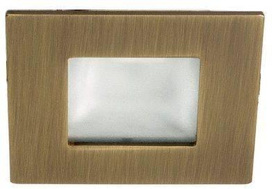 Oprawa schodowa kwadratowa złota patynowa G4 MS-04 Candellux 2207945
