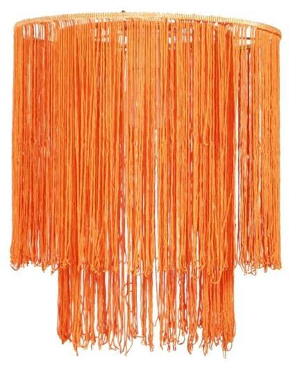 Abażur sznurkowy pomarańczowy do lampy wiszącej Brasil Candellux 77-24230 Outlet