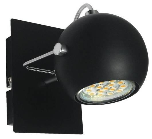 LAMPA ŚCIENNA CANDELLUX  91-25005-Z KINKIET TONY 1X3W LED GU10 CZARNY MATOWY