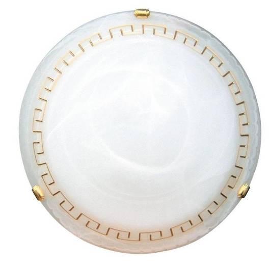 LAMPA SUFITOWA CANDELLUX WYPRZEDAŻ 13-93168 GRECKI PLAFON30  BI/ZŁ 60W     (INDEKS OBI)