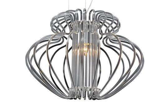 LAMPA SUFITOWA CANDELLUX WYPRZEDAŻ 31-36547 IMPERIA ZWIS 1X60W E27 520X420 DUŻA BIAŁA