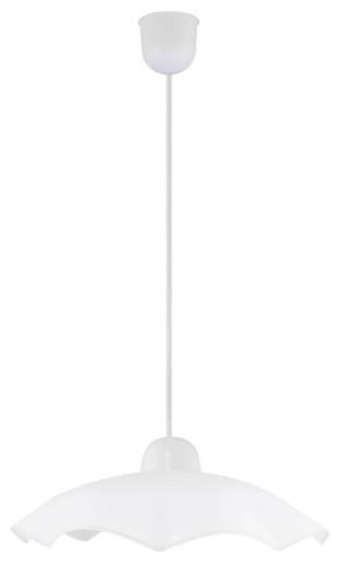LAMPA SUFITOWA CANDELLUX WYPRZEDAŻ 31-70329 FALBANKA ZWIS 1 PŁ  1 BIAŁA 1 X60 W E27