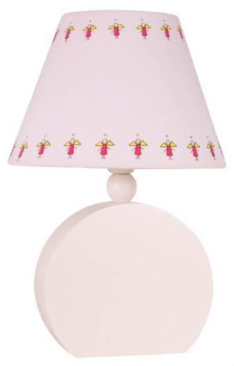 LAMPKA BIURKOWA CANDELLUX WYPRZEDAŻ 41-62485 OFELIA LAMPKA GAB. MDF 1X40W E14 RÓŻOWA