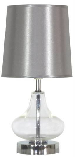 LAMPKA STOŁOWA CANDELLUX ALLADINA 41-10919 1X40W E14 BIAŁA