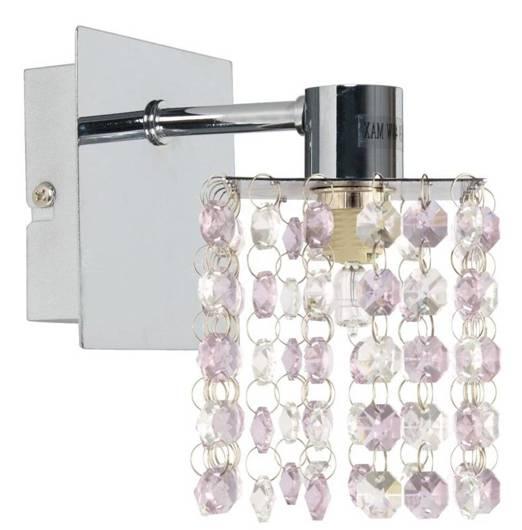 Lampa ścienna kinkiet 1X40W G9 Fioletowy CLASSIC 21-59256