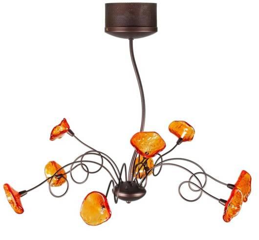 Lampa sufitowa wisząca 9x20W G4 Malta Candellux 39-00630