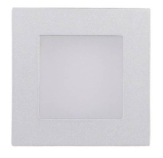 Oprawa schodowa kwadratowa srebrna stal G4 MS-09 2215191