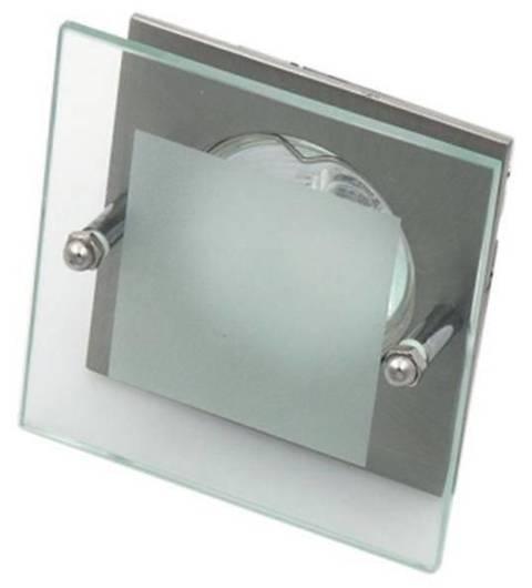 Oprawa stropowa satyna nikiel kwadrat szkło SZ-04 2219337