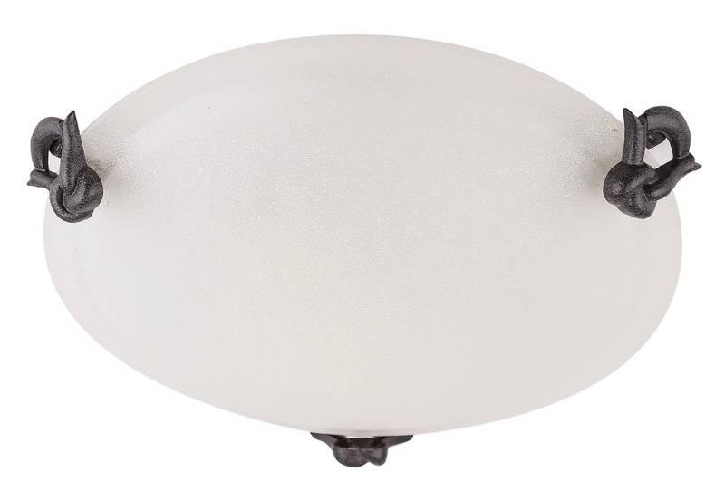Plafon ścienny sufitowy szklany lampa 60W E27 Eva Candellux SB-3837